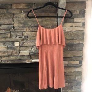 Never worn  blush  color mini dress.